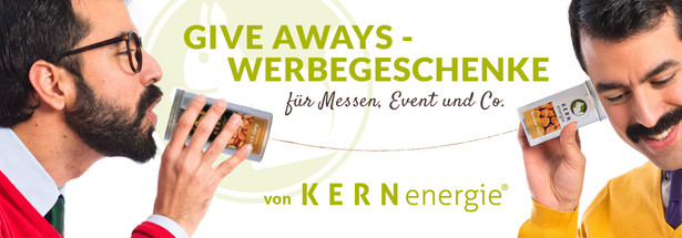 Give Aways – Werbegeschenke für Messen, Events & Co.