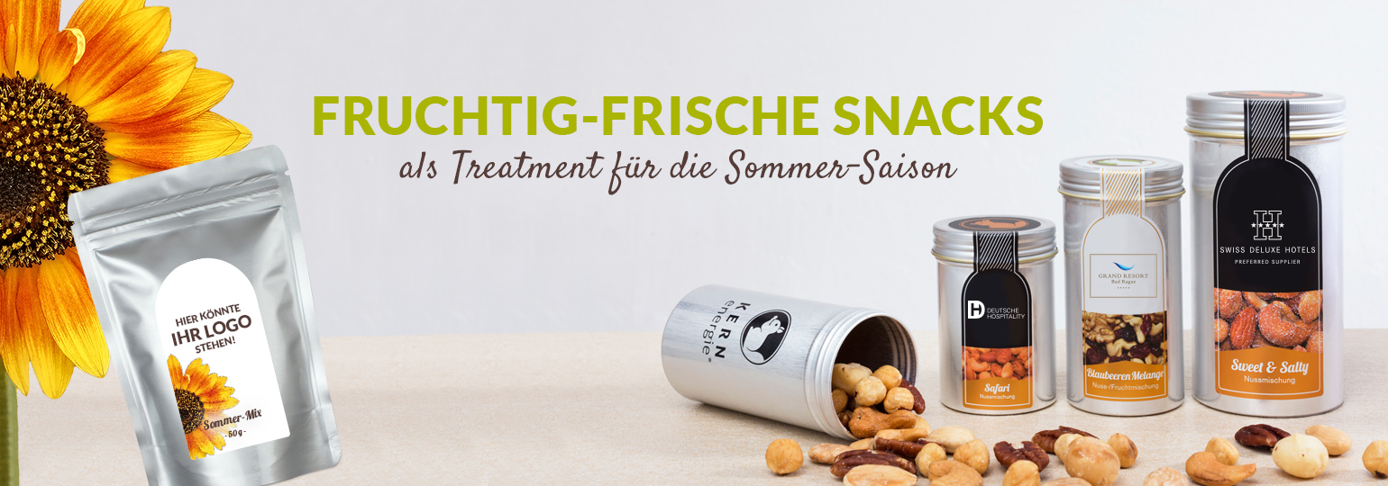 Sommer Snacks: Individualisierte & fruchtig-frische Treatments