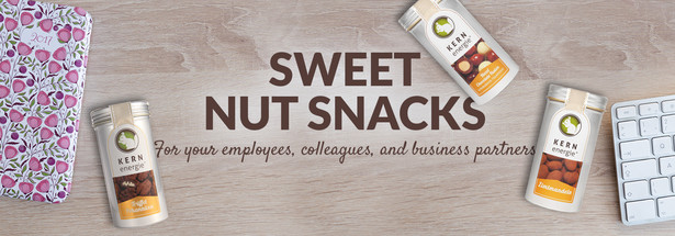 Nut snacks for your company: crunchy-sweet & useful for any occasion